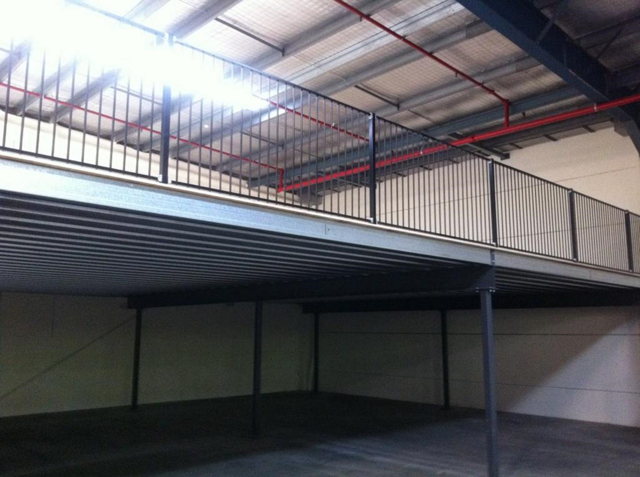 pallet racking and more mezzanine